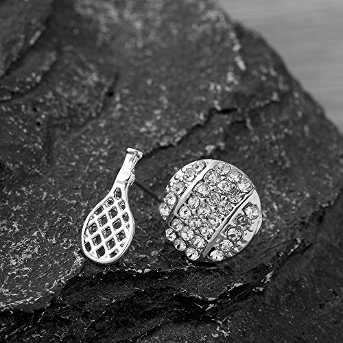 Tennis Jewelry Perfect Tennis Gifts for Tennis Players Tennis Ball Stud Earrings Sportybella Tennis Earrings