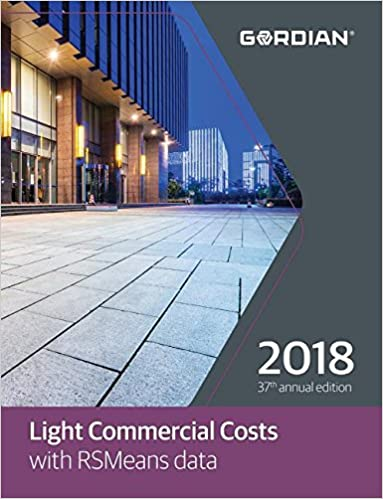 Light Commercial Costs with RSMeans Data 2018 (Means Light