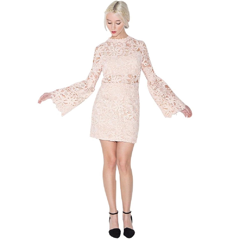 BOMOVO Damen Sommerkleid Elegant Design Celebrity Business Party ...