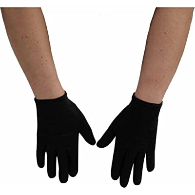 Forum Novelties Black Gloves Child-One Size: Toys & Games