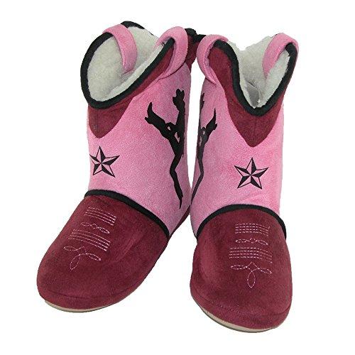 Zapatillas Para Mujer Ciciciabella Dixie Darlin Cowgirl Bota Pink