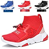 Kids Shoes Boys Girls Sneakers Lightweight Sports Shoes Slip On Running Walking School Casual Trainer Shoes with Wide Width