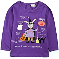 [Patrocinado] Little Bitty Girl's Autumn and Winter Style Long Sleeve Print T-Shirts, Cotton Clothing Sets, Outdoors Clothes