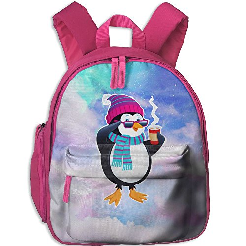 Children Drinking Sunglasses Penguin School Backpack Gift For Baby Boys & Girls Bookbags School Travel Outdoor Bagpack With Pocket For Toddlers - Art Project Sunglasses