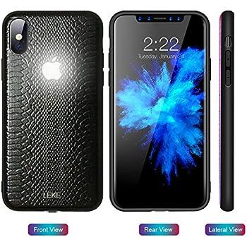 Yacn iPhone 6 Cases led Logo Light, iPhone 6s case Glowing Light Up Logo Case Illuminate Cover