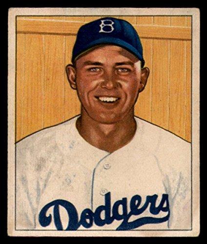 Baseball MLB 1950 Bowman #112 Gil Hodges EX Dodgers