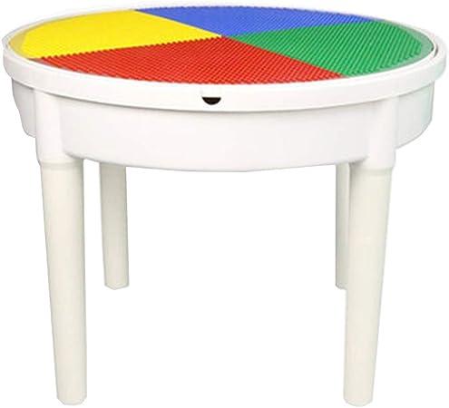 Juegos de mesas y sillas Mesa de construcción Multifuncional para niños 3-6-8 años Mesa de Juguetes educativos para niños Inicio Educación temprana Mesa de Estudio Gránulos esculpidos: Amazon.es: Hogar