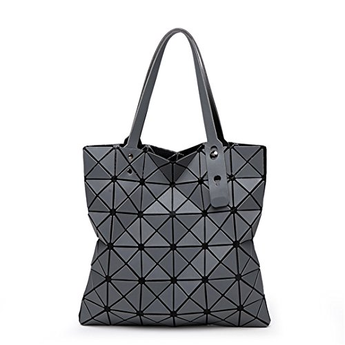 Fashion Diamond Women Bao Bags Geometry Matte Baobao Handbag Female Geometric Casual Tote Lady Shoulder Top-Handle Bag ()