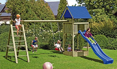 Klettergerüst Haus : Klettergerüst lara 470 x 190 296cm kreuzholz druckimprägniert