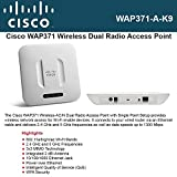 Cisco Systems, Inc - Cisco Wap371 Ieee 802.11Ac 1.27 Gbps Wireless Access Point - Ism Band - Unii Band - 1 X Network (Rj-45) ''Product Category: Wireless Devices/Wireless Access Points/Bridges''