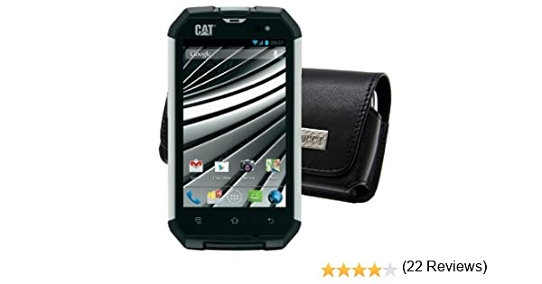 MTT - Funda para smartphone Caterpillar CAT B15 (piel, cierre de ...