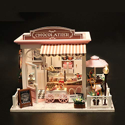 WYD Coco House Wooden Miniature 3D Furniture Set with, used for sale  Delivered anywhere in USA