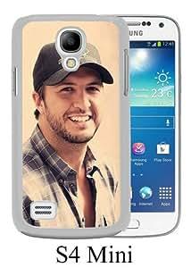 Luke Bryan White Samsung Galaxy S4 Mini Screen Phone Case Unique and Durable Design