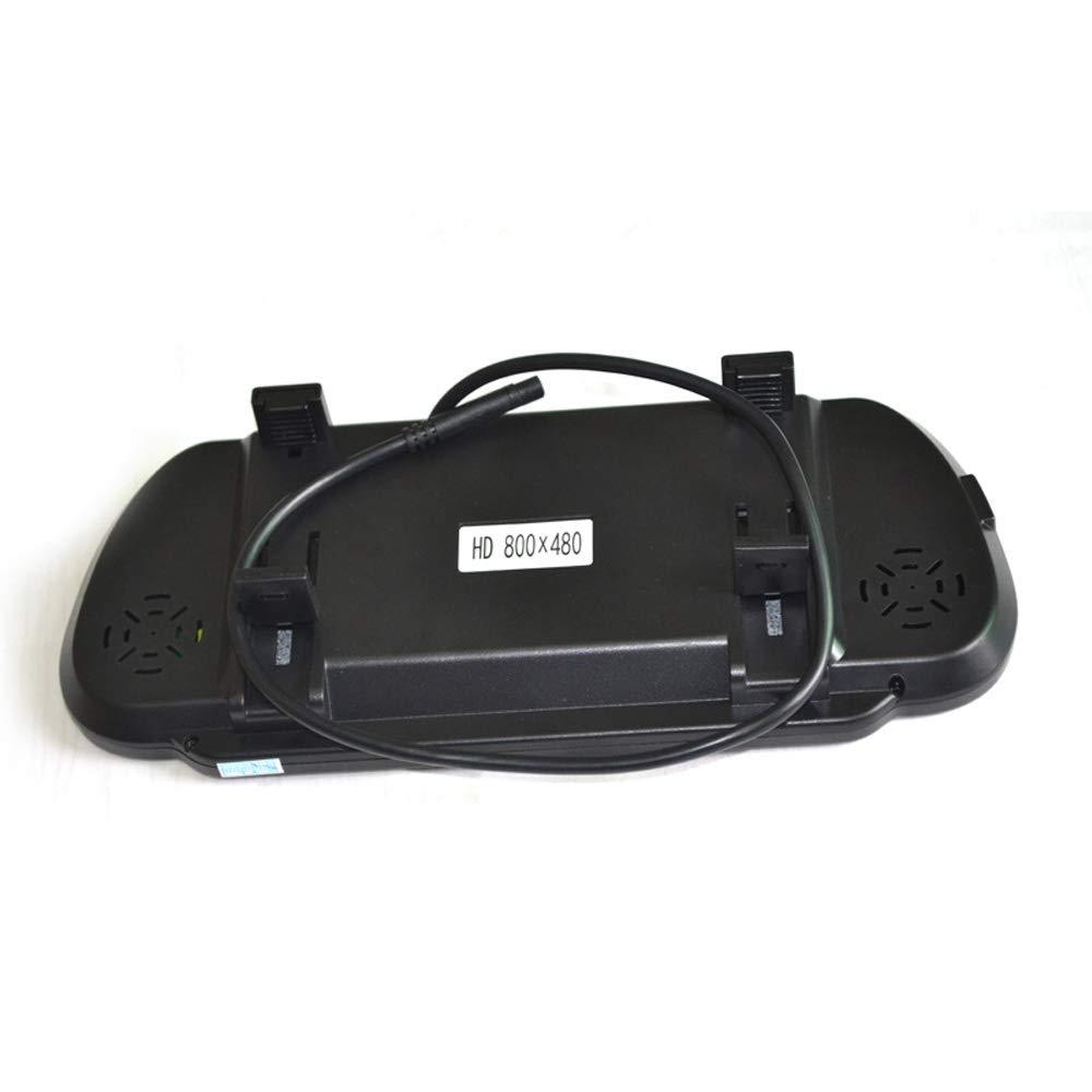 Brake Light Reverse Backup Camera 7 Inch Clip-on Rear View Mirror Monitor for Nissan NV 1500 2500 3500 Van Vardsafe VS503K