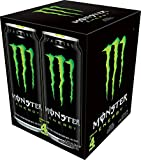 Monster Energy, Original, 473mL cans, Pack of 4