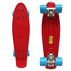 Rimable Professional Manufacturer of Skateboard£¡  Rimable Plastick Cruiser Features:  Re-issue 1970's style plastic board  Fully Assembled Complete Boad  Easy and Ready to Ride  Specification:  Deck:22'' Long x 6'' Wide  Trucks:3¡± Wide Alum...