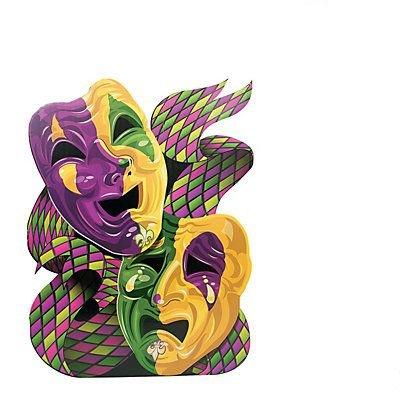 Mardi Gras Mask Stand-Up -