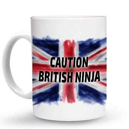 Amazon.com: Makoroni - CAUTION BRITISH NINJA British ...