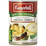 Campbell's Low Fat Cream Of Chicken Soup, 284ml, 24-Count