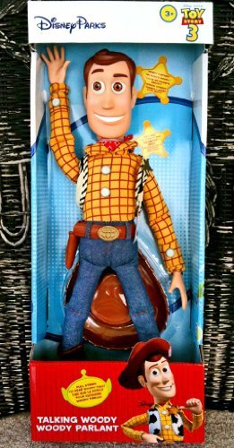 - Disney Theme Park Authentic Toy Story 3 Pull String Talking Woody