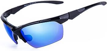 Shieldo Polarized Sports Sunglasses Running Cycling Fishing