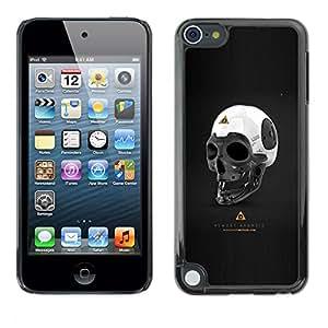 Caucho caso de Shell duro de la cubierta de accesorios de protección BY RAYDREAMMM - Apple iPod Touch 5 - Casi Android