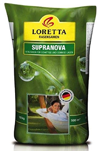 Loretta Supranova Rasen | 10 kg für 500qm perfekten Universalrasen