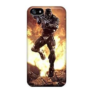 High Grade NadaAlarjane-l Flexible Tpu Case For Iphone 5/5s - Crysis