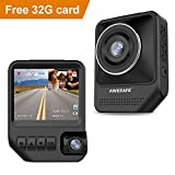 AWESAFE Dual Dash Cam Cars Front Inside Dash Cam 1920X1080P 170°Wide Angle,Night Vision,Sony Sensor,Parking Monitor,Motion Detection Uber,Taix(32GB Card Included)