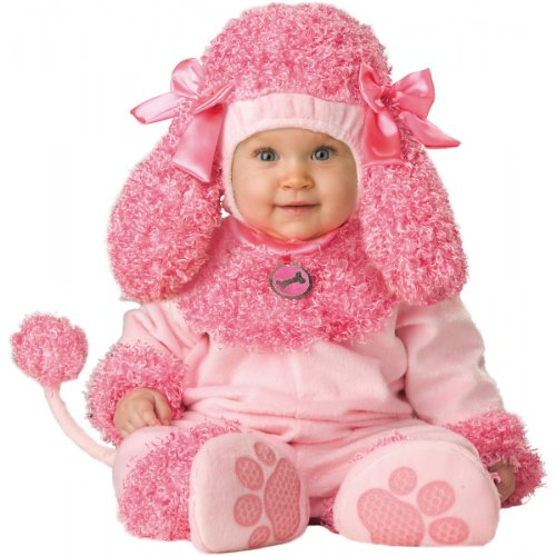 Biker Halloween Costumes Girl (InCharacter Unisex-baby Infant Poodle Costume, Pink, Medium)