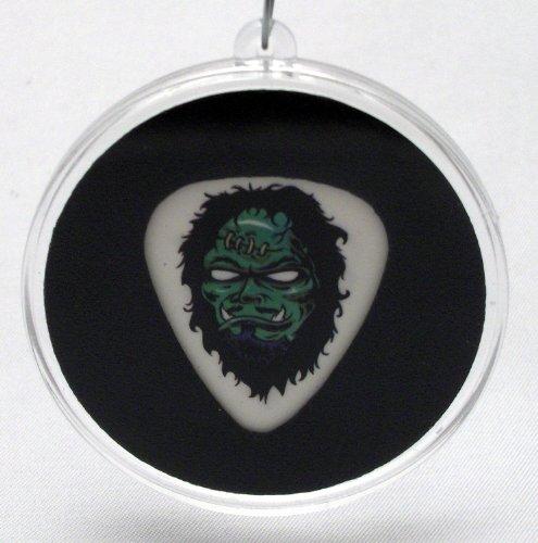 (Metallica Kirk Hammett Zombie Guitar Pick Christmas Ornament)