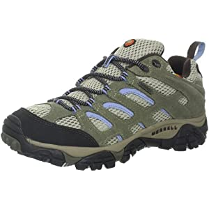 Merrell Women's Moab Waterproof Hiking Shoe,Dusty Olive,11 M US