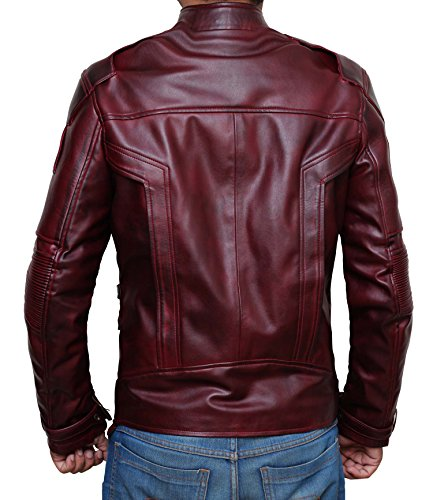 Star Lord Costume Jacket Guardians Of The Galaxy Vol. 2 | Waxed brown, XXL by Decrum (Image #1)