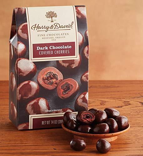Harry and David, Dark Chocolate Cherries, 14 Oz. Box (Dark Chocolate Cherries)