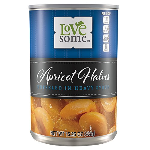 Lovesome Apricot Halves Heavy Syrup, 15.25 Ounce -
