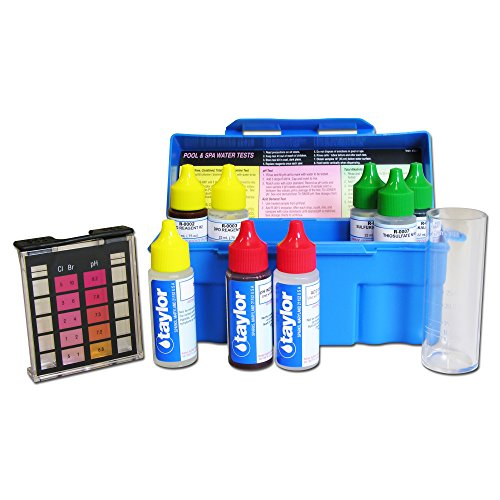 Taylor Troubleshooter DPD Pool and Spa Water Test Kit - K-1004