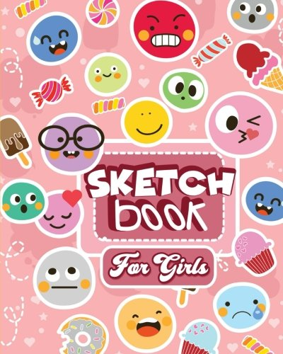 Sketch Book for Girls: Arts and Crafts Drawing Pad with Blank Paper for the Creative Girl (Best Gifts for Ages 9, 10, 11, 12, 13)