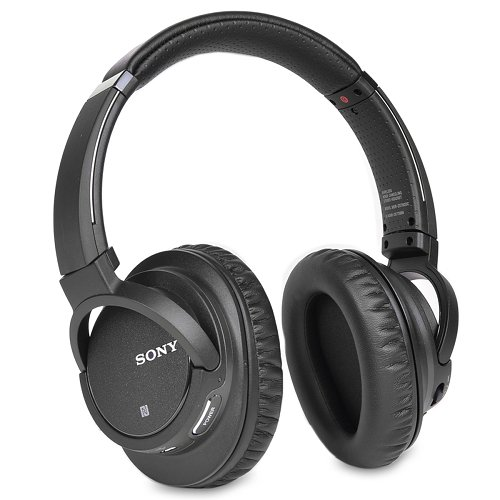 Sony MDR-ZX780DC Bluetooth and Noise Canceling Wireless Headphones /Headset With Case - MDRZX780DC (Black) by Sony