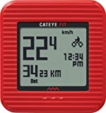 CatEye Fit Wireless Bicycle Computer/Walk Pedometer CC-PD100W (Red)