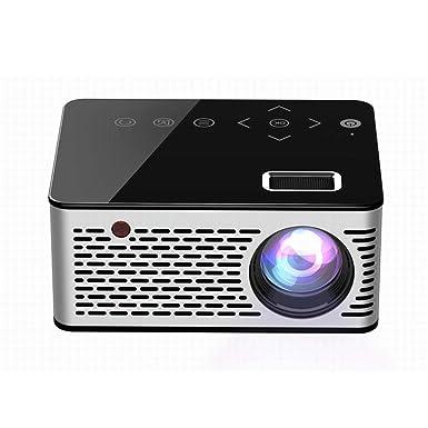 Amazon.com: Asatr T200 Proyector Mini Portátil Home HD LED ...