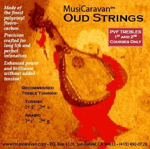 Oud String PVF Trebles by MusiCaravan by MusiCaravan
