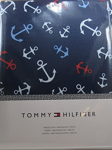 tablecloth-tommy-hilfiger-navy-with-colorful-achors-oblong-60-x-102