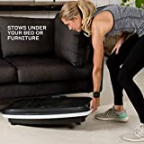 LifePro Turbo 3D Vibration Plate Exercise Machine - Dual Motor Oscillation, Pulsation + 3D Motion Vibration Platform | Full Whole Body Vibration Machine for Home Fitness & Weight