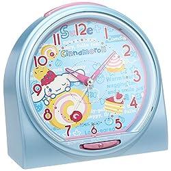 Cinnamoroll talking alarm clock alarm sound switch type (thin blue pearl paint) CQ135L