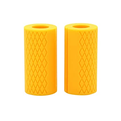 Barbell Grips Thick Fat Silicone Arm Wrap Bar Dumbbell Grip Home Gym Accessories