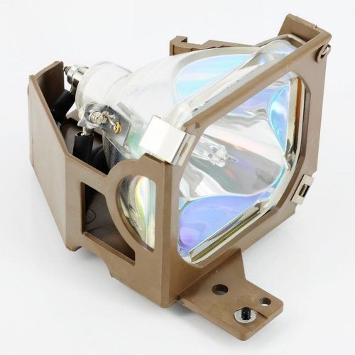 (Glamps ELPLP13 / V13H010L13 Replacement Lamp with Housing for EPSON PowerLite 50c/70c by Generic)
