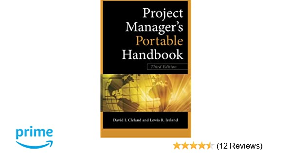project managers portable handbook