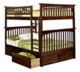 Best Atlantic Furniture Bunk Beds - Atlantic Furniture Columbia Bunk Bed with 2 Flat Review