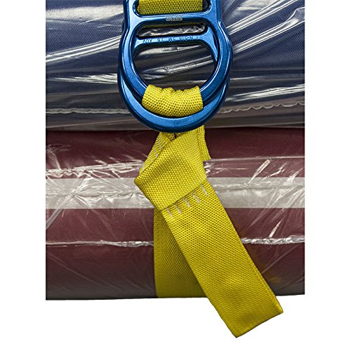 """Rock N Rescue RNR UTILITY DOUBLE """"D-RING"""" CINCH TIE DOWN STRAPS (4) by Rock N Rescue (Image #2)"""