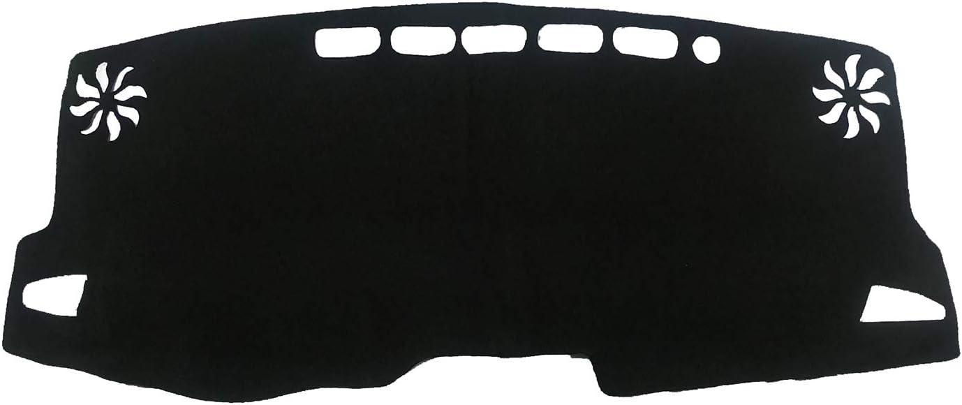 AutofitPro Custom Fit Dashboard Black Center Console Cover Dash Mat Protector Sunshield Cover for 2019 2020 Toyota Corolla Hatch 2020 Toyota Corolla Sedan